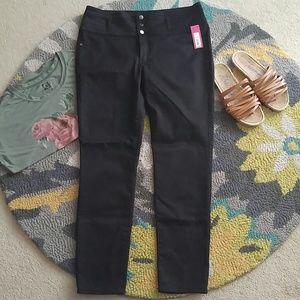 NWT Black high waisted Xhilaration pants